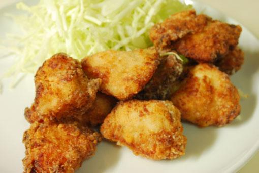 塩麹と花椒の鶏唐揚